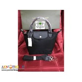 LONGCHAMP 4A NEO SMALL SHORT HANDLE BLACK