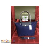 LONGCHAMP NEO MEDIUM LONG HANDLE (NAVY)