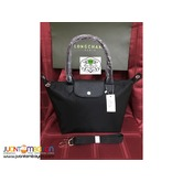 LONGCHAMP NEO MEDIUM LONG HANDLE (BLACK)