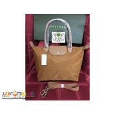 LONGCHAMP NEO MEDIUM LONG HANDLE (TAN)