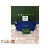 LONGCHAMP POUCH - LONGCHAMP NEO POUCH ROYAL BLUE