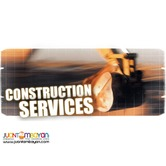 Construction, Renovation and Demolition Services