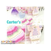 CARTER BABY MITTENS - set of 3 PACKS 6 PCS