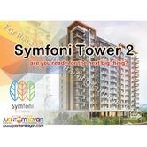 bossa tower 2 symfoni affordable condominium guadalupe cebu city
