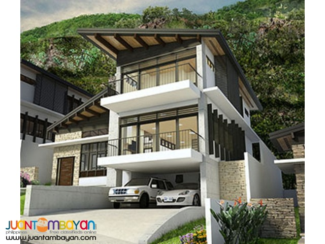 180 degrees spectacular sea-city view house monterrazas de cebu