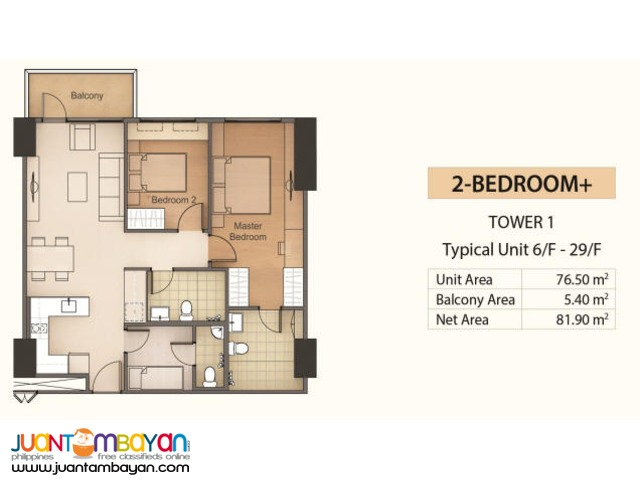 2bedroom mandani bay condo cebu waterfront township, Mandaue City