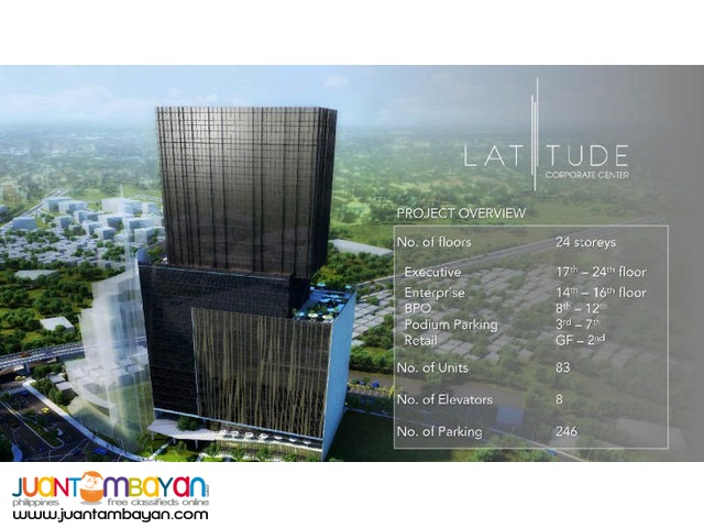 78.16 sqm office space at cebu business center lattitude, cebu busines