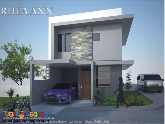 Rhea Ann house and lot villa sebastiana tawason mandaue