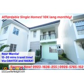 10K LANG MONTHLY! Single Homes in Imus! Near Manila! 20 mins from MOA