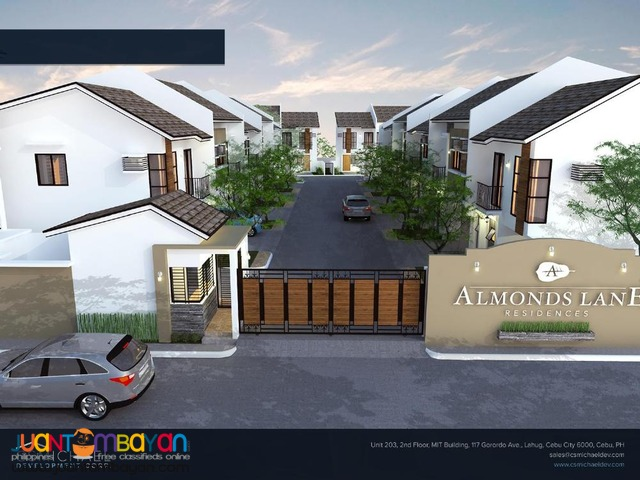 Almonds Lane Residences in Talisay City house and lot