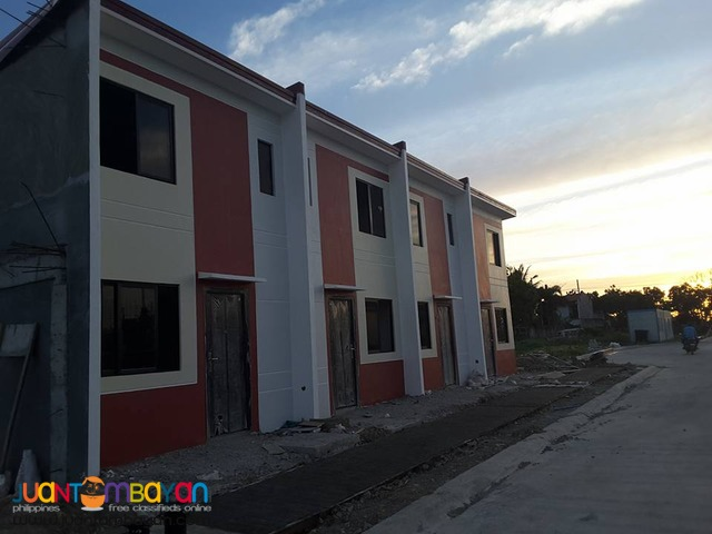 Gentree Villas townhouse low cost thru pag ibig financing