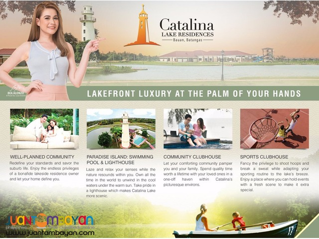 CATALINA Lake Residences Residential/Commercial Lots - 6,500/sqm