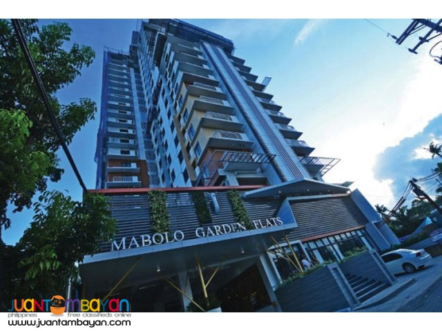 1BR LOFT type condo mabolo garden flats cebu ready for occupancy