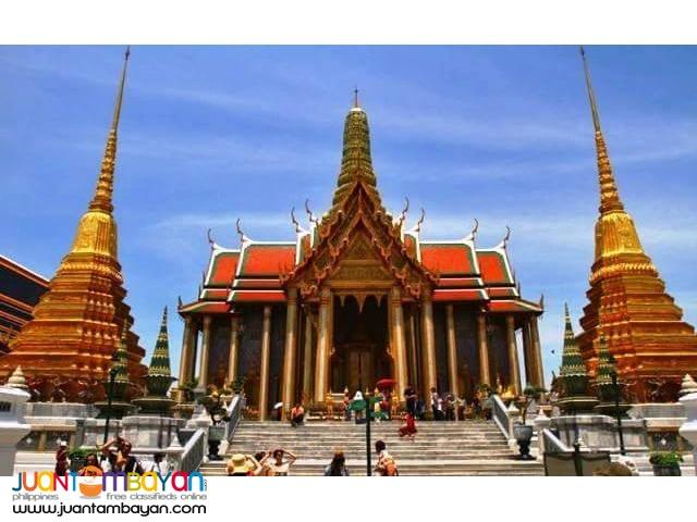 3d2n Bangkok with City Tour + Airfare