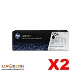 HP Toner Black CE285A / 85A genuine - for sale