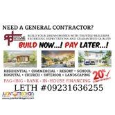 Gusto mo bang magpatayo ng BAHAY? BUILD NOW! PAY LATER!