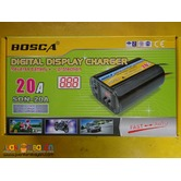 digital automatic car battery smart charger 20a 12v 24v
