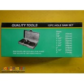 hole saw set 11 pcs in a case
