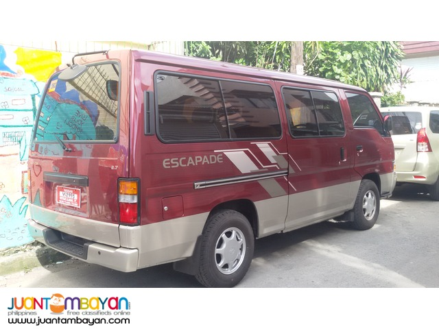 8a31249806 Van for Rent to any point in Luzon. Negotiable rates Muntinlupa City