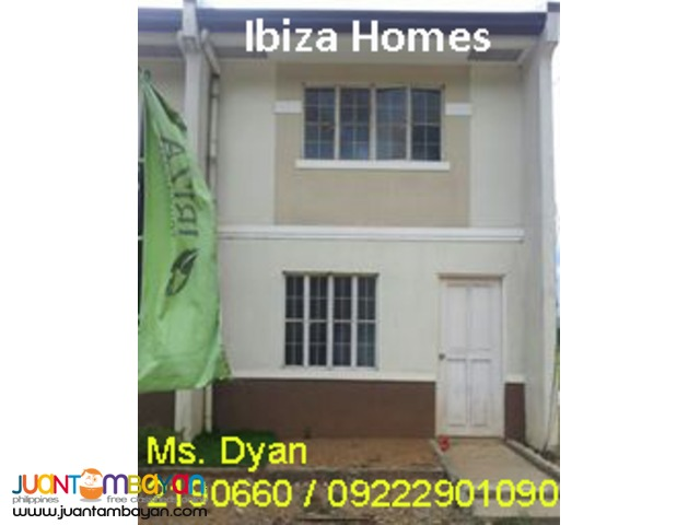 Rent to Own Pag-ibig House for Sale Ibiza Homes