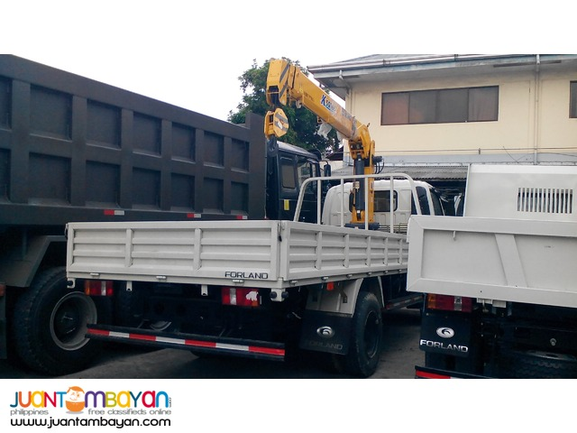 6 Wheeler Boom Truck with 3.2T Boomer