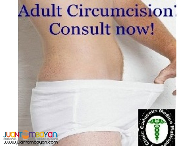 Adult Circumcision Consultation and Treatment near QC