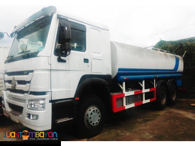 10 Wheeler HOWO Water Truck,