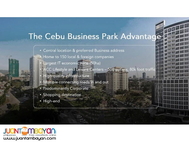 PEZA registered Latitude Corporate Center Cebu Business Park