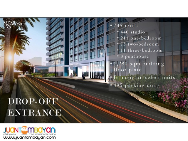38 PARK AVENUE IT Park  Php10,700 Only Invest now