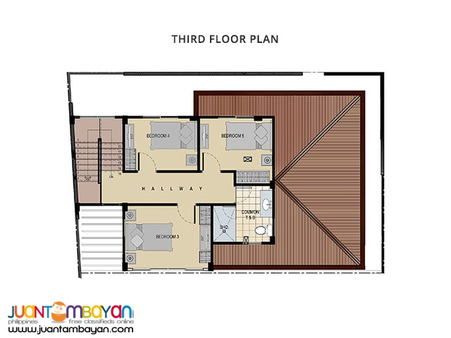 Ready for Occupancy 3 storey house with 7 bedrooms at talamban