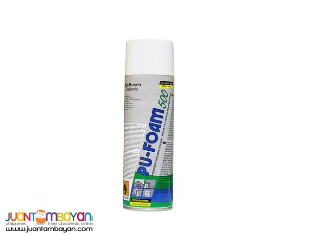 Expanding Polyurethane PU Foam Spray for Cracks and Gaps