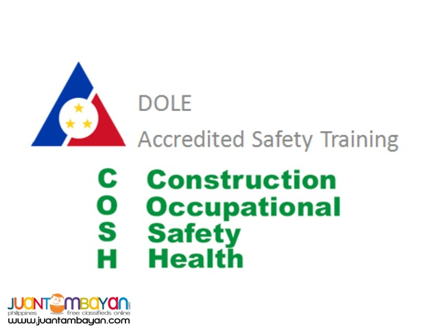 COSH Training / Seminar Quezon City NCR