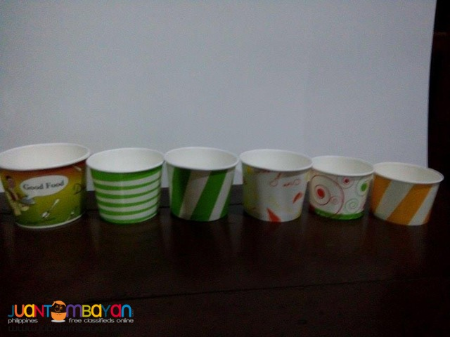 Plain and Printed Paper Bowls