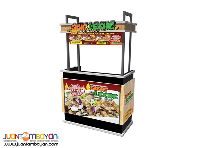 Food Cart Franchise Pork Sisig Murang Negosyo