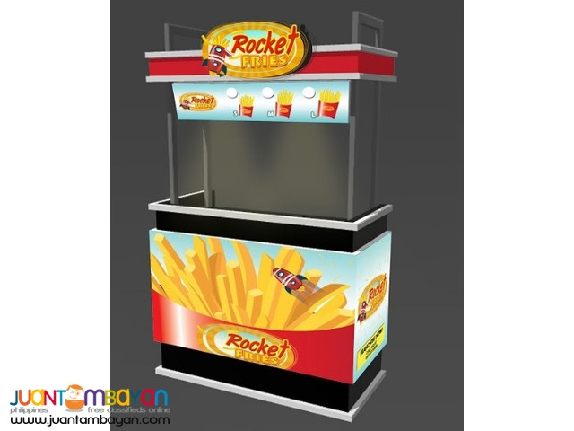 Rocket Fries French Fries Food Cart Franchise