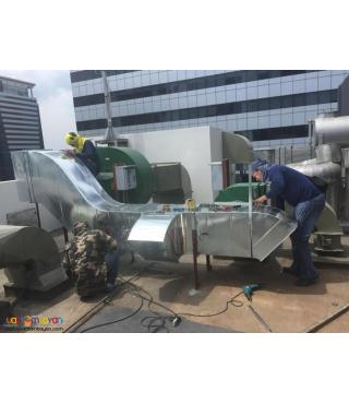 AIRCON DUCTING, EXHAUST DUCT, DUCTING CONTRACTOR