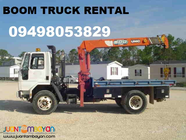 Truck For Rent >> Boom Truck For Rent Paranaque Anonymous