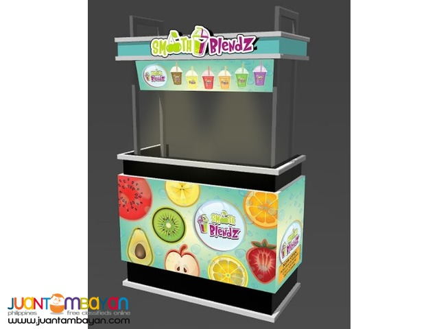Rocket Fries Smooth Blendz 2 in 1 Food Cart Franchise