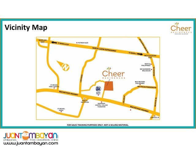 CHEER Residences @ SM Marilao 28 sqm Units @ only 7,318/monthly DP