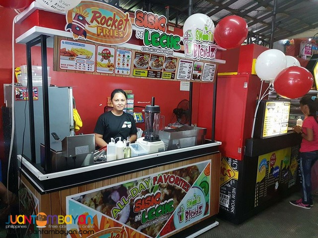Sisig De Leche Pork Bangus Chicken Food Cart Franchise