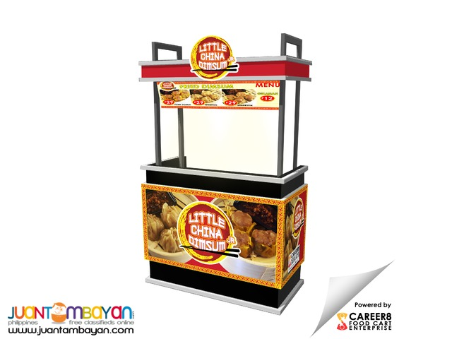 little China Dimsum Pork Siomai Sharksfin food Cart Franchise
