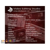 Quality video editing and graphics design