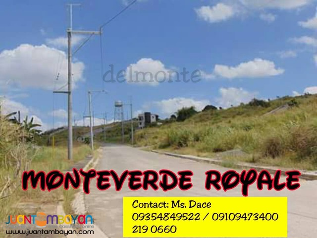 LOT FOR SALE AT MONTEVERDE ROYALE, AN OVERLOOKING PLACE IN TAYTAY