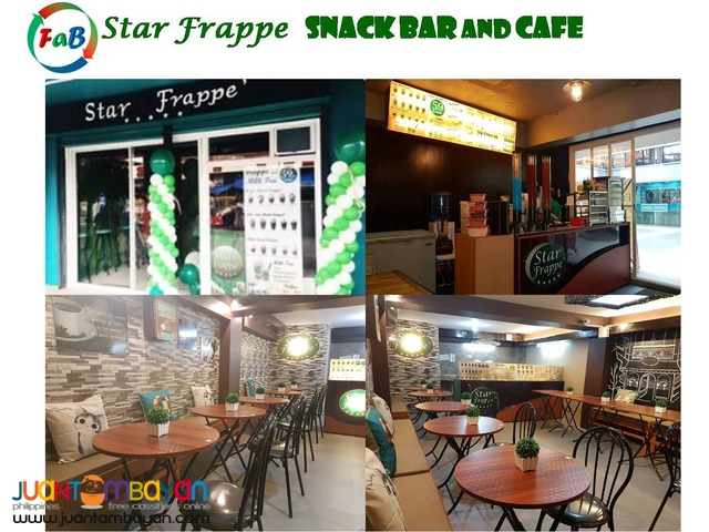 Star Frappe, Foss, Farron Cafe, Starbucks, Snack Bar, Coffee Shop