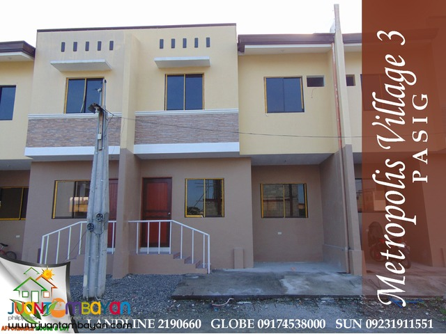 House for Sale Metropolis Village Ortigas Extension Pasig Birmingham