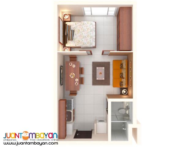 2 Bedrooms (50.29 sqm) Vista Shaw Condo in Mandaluyong