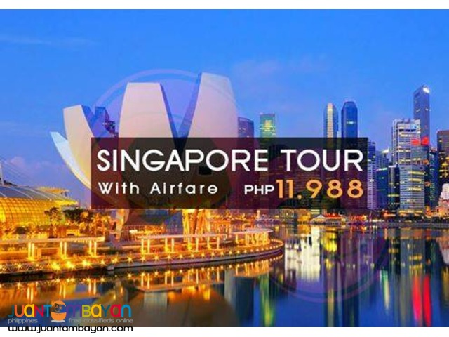 Singapore Tour Packages + Airfare
