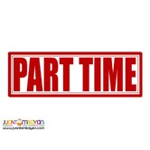 PART TIME OR FULL TIME WITHIN CEBU CITY! URGENT!