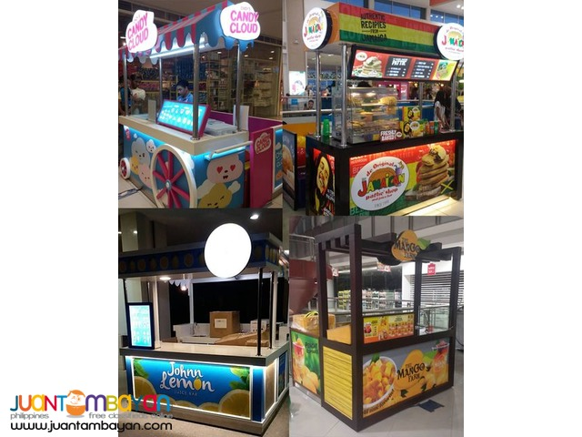 Food Cart Maker, Kiosk Maker