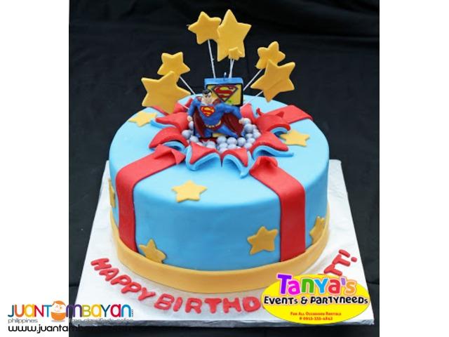 Cheap Fondant Cake In Pampanga W Free Cupcakes Angeles